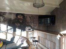 Klantfoto: Portret André Hazes 3 van 3 van Bert Hooijer, als naadloos behang