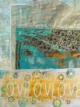 LOVE LOVE LOVE sur Gabi Hampe