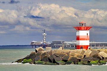Havenhoofd Scheveningen en de Pier in zijn glorie van Micky Bish