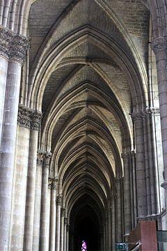 Gewelf in kathedraal van
