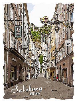 Salzburg von Printed Artings