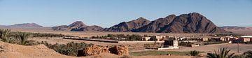 Panorama-Nähe Figuig Marokko von Adriaan Hulzinga