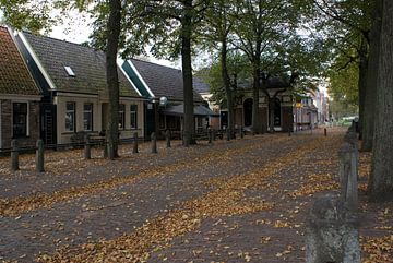 Herfst op het plein (1) van Bas Smit