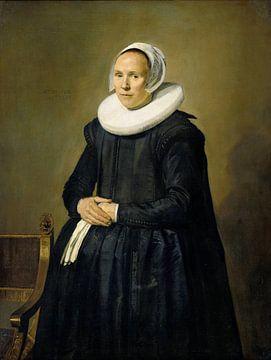 Portret van Feyntje van Steenkiste, Frans Hals sur