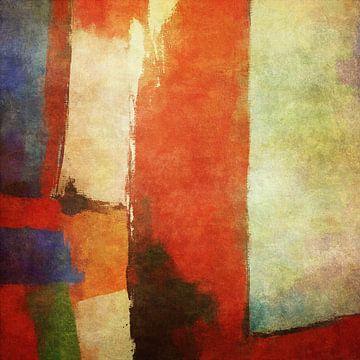 Abstracte samenstelling 1206 van Angel Estevez