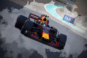 Max Verstappen - Red Bull Racing - F1 Abu Dhabi 2017 van Charrel Jalving