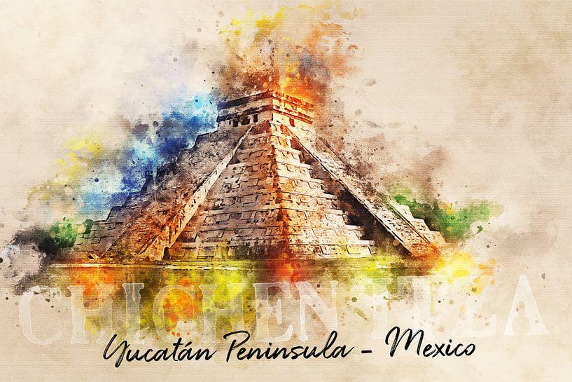 Chichén Itzá - Mexico van Sharon Harthoorn