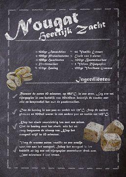 Dessert-Rezept: Nougat von JayJay Artworks