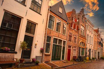 Historische straat van Peter Heins