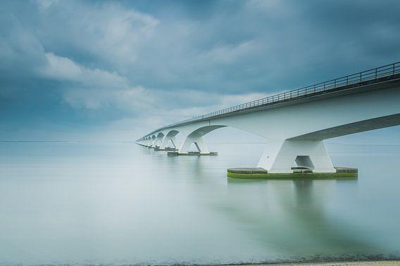 Lange sluitertijd Zeelandbrug (XI)