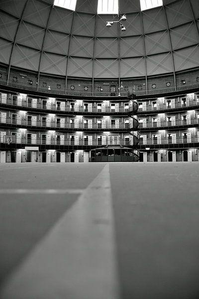 Jail no longer in use,  de Koepel in Haarlem sur Ernst van Voorst