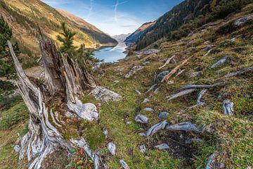 Blick auf den Schweizer Stausee. von Rick Ermstrang