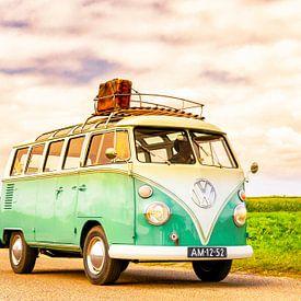 Volkswagen Transporter T1 Bulli Samba oder Schiebedach Deluxe von Sjoerd van der Wal Fotografie