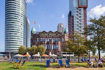Hotel New York an der Kop van Zuid in Rotterdam von Peter de Kievith Fotografie