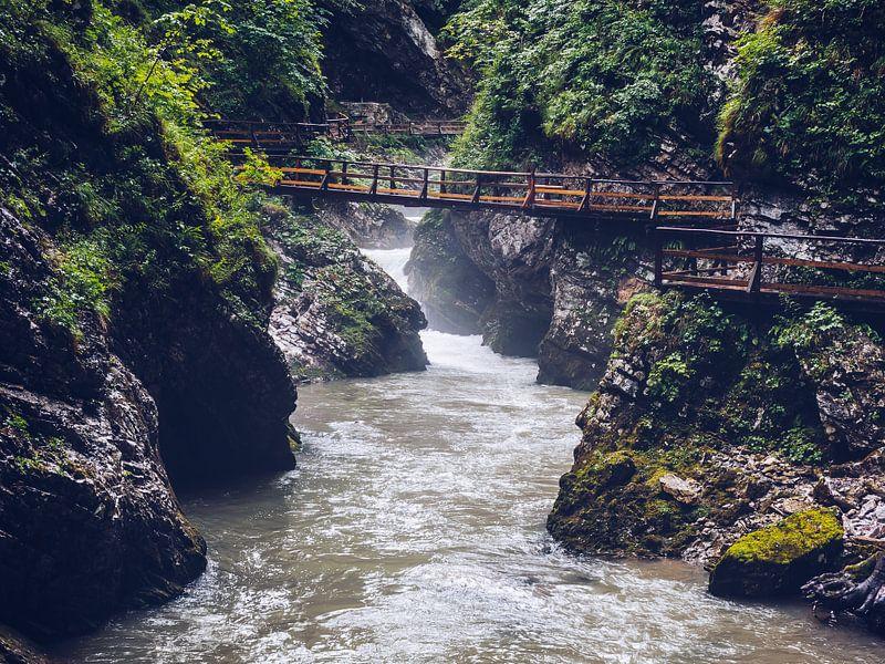 Vintgar Gorge (Slovenia) van Alexander Voss