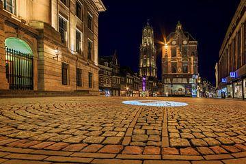 Utrecht, Stadhuisbrug, Nederland van Peter Bolman