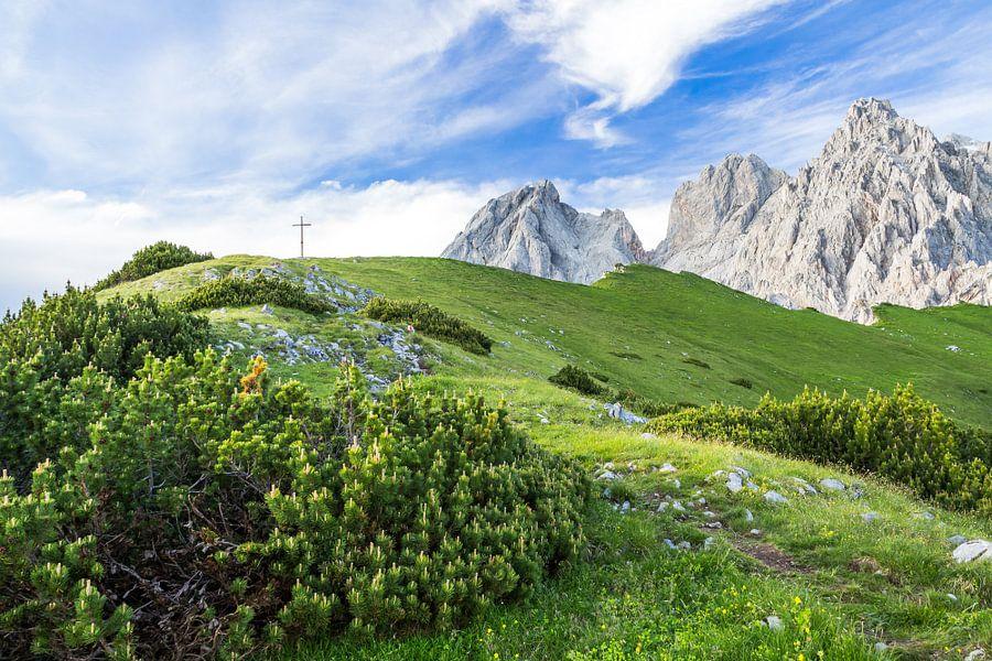 Berglandschap in de Alpen