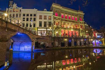Winkel van Sinkel, Bezembrug blauw uur Utrecht van André Russcher