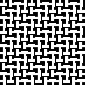 Permutation | ID=09 | V=26-01-1 | 1:1 | 12x12 von Gerhard Haberern