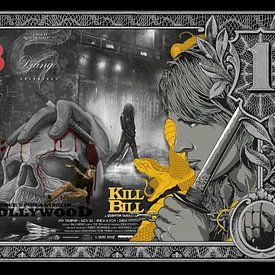 1 Dollar Tarantino von Rene Ladenius Digital Art