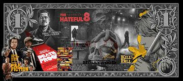 1 Dollar Tarantino van Rene Ladenius Digital Art
