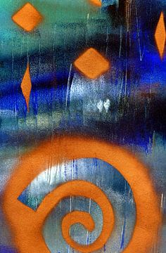 Leuchten im Dunkel 111 von Claudia Gründler