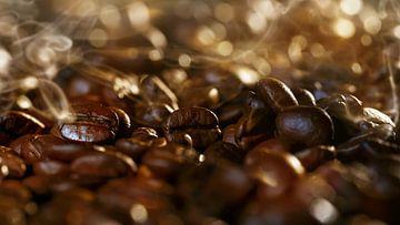 aromatische koffiebonen macro van Dörte Stiller