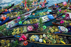 Banjarmasin Floating Market, Fauzan Maududdin