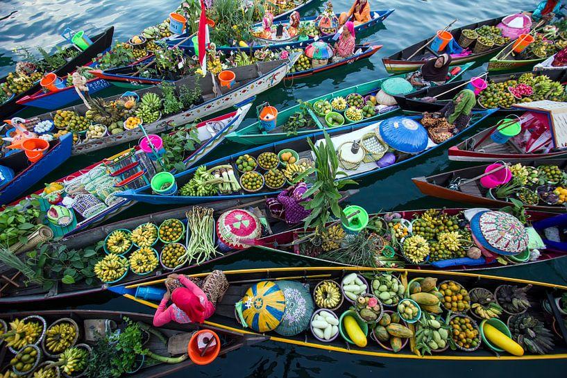 Banjarmasin Floating Market, Fauzan Maududdin van 1x