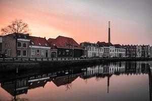 Sunset in Bergen op Zoom von Kim de Been