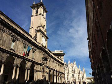 De pracht van de architectuur in Milaan van Tessel Robbertsen