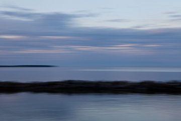 Stillte Küstenlandschaft 5 von Jolanda Sprokholt