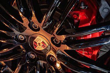 "Porsche 911 20"" turbo velg van Rob Boon"