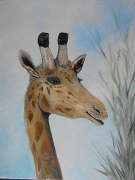 The Smiling Giraffe van Rhonda Clapprood