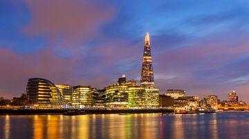 Uitzicht op de Shard, Londen van Adelheid Smitt