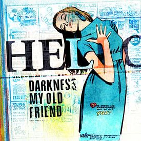 Hello Darkness My Old Friend van Feike Kloostra