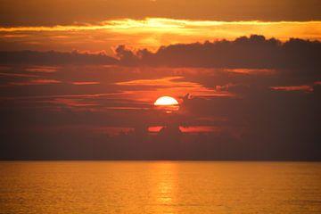 Zonsondergang van Ivo de Rooij