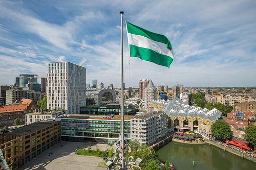 Het stadsgezicht van Rotterdam van MS Fotografie