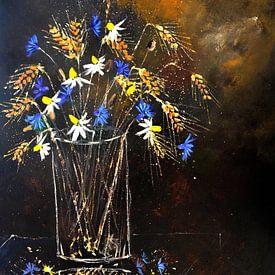 Blumen auf dem Feld von pol ledent