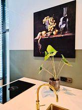 Kundenfoto: stilleven nr.16 von Ron jejaka art, als akustikbild