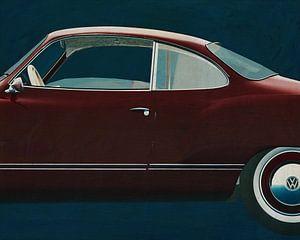 Volkswagen Karmann Ghia 1959 Kant van Jan Keteleer