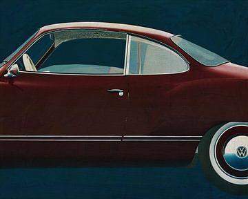 Volkswagen Karmann Ghia 1959 Kant