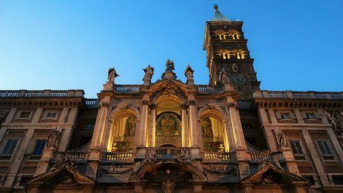 Rome, italie, kerk van ferdy visser