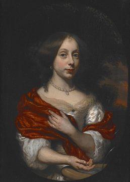 Porträt einer jungen Dame, Nicolaes Maes