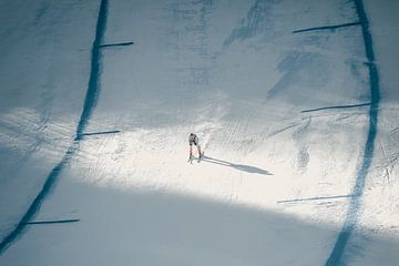 Ski Racer op weg naar de overwinning van Sophia Eerden