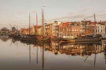 Galgewater in Leiden von Dirk van Egmond