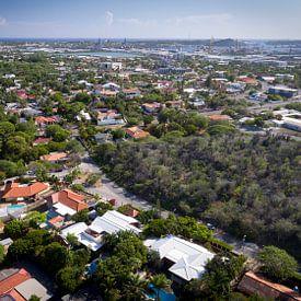 Luchtfoto Curaçao van Jarrik Bijsterbosch