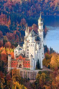 L'automne au château de Neuschwanstein