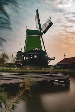 Zaanse Schans Windmühle von Loran Schoen