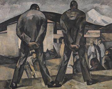 Die Boulespieler, Henri Ramah